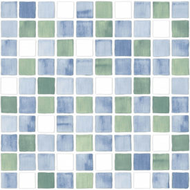 Mosaico Azul Mix | Hispania Cerámica